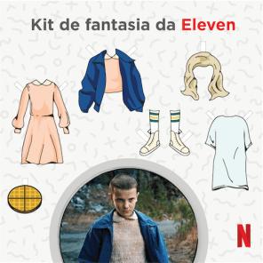 Kit de Fantasia da Eleven - Stranger Things