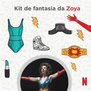 Kit de Fantasia da Zoya - Glow