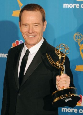 Bryan Cranston já ganhou 5 Emmy's. Será que o Oscar completará a prateleira dele?