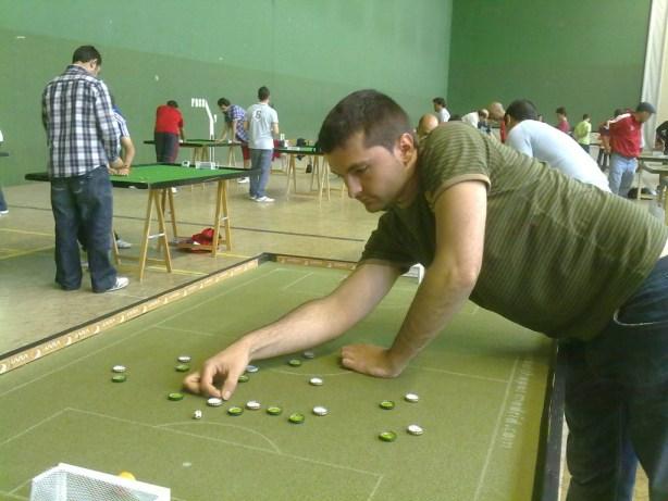 Jose Rodríguez se proclamó campeón al ganar su partido contra Domingo Vallejo