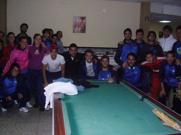 Visita de la escuela deportiva algecireña