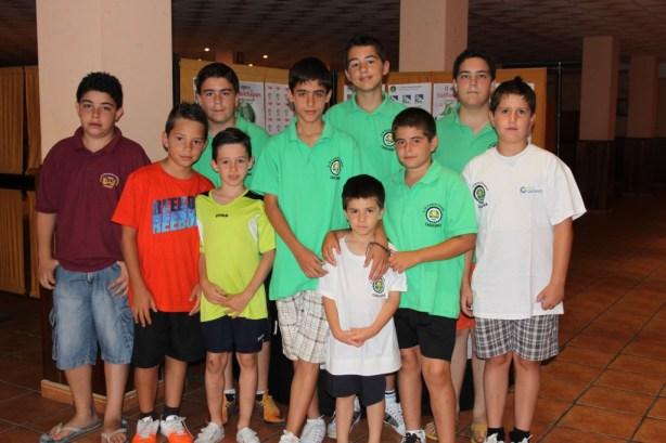 Jugadores II Open Infantil Chauchina