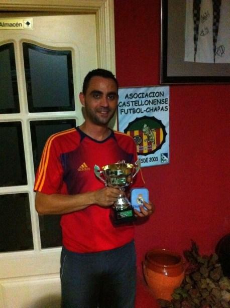 Sergio Enrich campeón Copa Castellonense