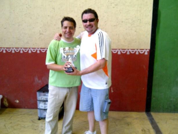 Domingo Vallejo y Javi Casado, finalistas del torneo