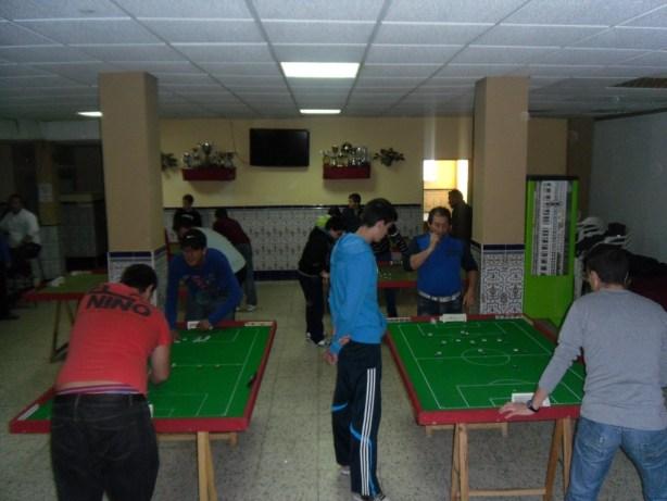 Jornada de Liga en Campamento