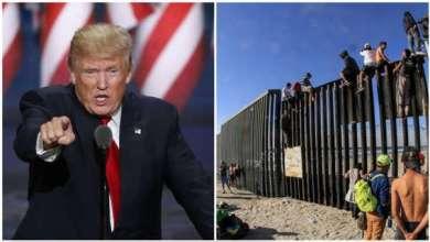 صورة محكمة الولايات المتحدة ضد ترامب وتحظر من تحويل مبلغ 2.5 مليار دولار من وزارة الدفاع إلى الجدار مع المكسيك