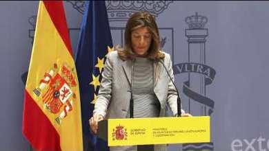 صورة الحكومة الإسبانية توقع تعاون ووزيرة الدولة للتعاون الدولي تقوم برحلة فعلية إلى فلسطين