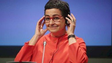 صورة وزيرة الخارجية الإسبانية تتولى قيادة المنصة لدعم خطة مكافحة النزوح في أمريكا الوسطى والمكسيك