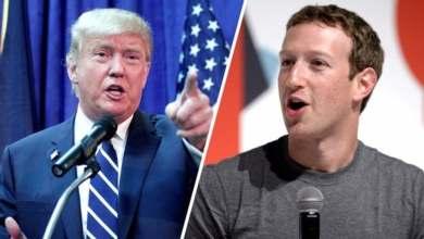 صورة مؤسس فيسبوك يدافع عن عدم مراقبة رسائل ترامب المثيرة للجدل على فيسبوك على الرغم من احتجاجات موظفيه