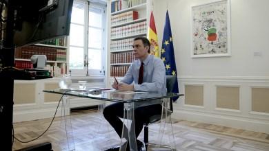 صورة رئيس الحكومة الإسبانية سانشيز يطلب من الاتحاد الأوروبي أن يستجيب على وجه السرعة للأزمة الناجمة عن وباء كوفيد-19