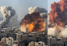 صورة لبنان: عشرات القتلي وأكثر من 3000 جريح بعد انفجار قوي ومرعب في مرفأ بيروت