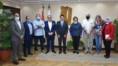 صورة وزير الشباب والرياضة يحضر الاجتماع التنسيقي لمهرجان وحشتونا لذوي القدرات الخاصة