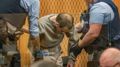 صورة الحكم على مرتكب مذبحة ضحايا المسلمين بمسجد نيوزيلندا بالسجن المؤبد