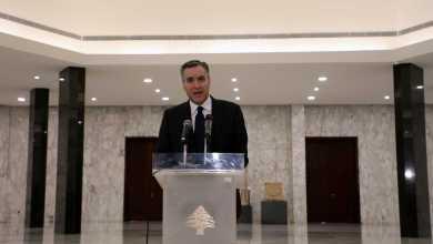 صورة استقالة رئيس الوزراء اللبناني المكلف بعد محاولات فاشلة لتشكيل حكومة جديدة
