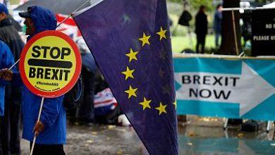 """صورة الاتحاد الأوروبي يهدد بمقاضاة لندن إذا غيرت قانون خروج بريطانيا: """"الثقة تضررت بشكل خطير"""""""
