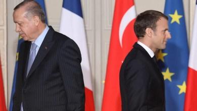 """صورة أردوغان ينصح ماكرون بـ """"العلاج النفسي"""" بسبب موقفه من الجماعات الإسلامية"""