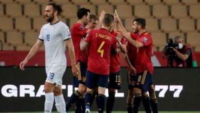 صورة أسبانيا في طريقها لكأس العالم 2022 في قطر تكرر النصر وتتصدر المجموعة