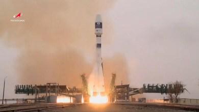 صورة روسيا أطلقت أول قمر صناعي كاتالوني نانوي من قاعدة بايكونور كوزمودروم  كازاخستان