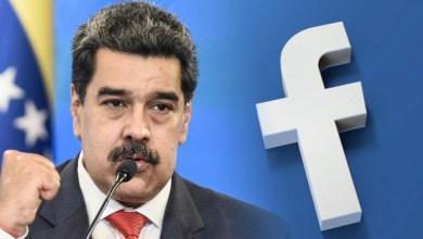 """صورة أخيرآ ملك العالم بأكمله فيس بوك الماسوني يحجب حساب الرئيس الفنزويلي لمدة شهر بتهمة """"التضليل"""" وفقا لمادورو حول المافيا العالمية"""