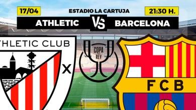 صورة اليوم نهائي كأس الملك أتليتيك ضد برشلونة الكلاسيكو دي لا كوبا في نهائي لاكارتوجا بإشبيلية