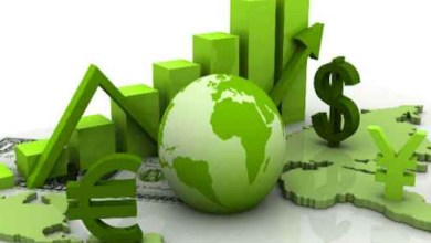صورة الاقتصاد الاخضر والغسل الاخضر والبلوك شين 2021