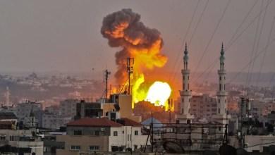 صورة سيناريوهات أمريكية وأوربية حليفة لإسرائيل تقبل تدمير مقر عدد من وسائل الإعلام الدولية في غزة والاشتباكات مع حماس بحجة جماعة إرهابية