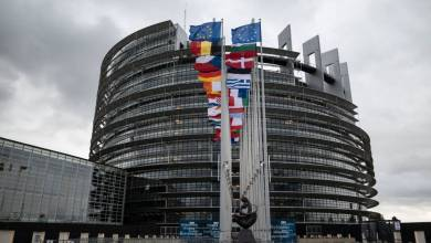 صورة وزير الدولة للاتحاد الأوروبي الإسباني يحضر الجلسة العامة للبرلمان الأوروبي في ستراسبورغ