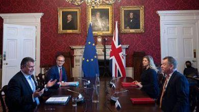 صورة لندن تضغط على الاتحاد الأوروبي لإجراء تغييرات مهمة على بروتوكول خروج أيرلندا الشمالية من الاتحاد الأوروبي