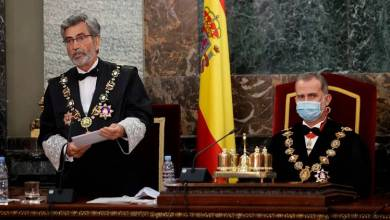 صورة المجلس العام للقضاء الإسباني لا يتم تجديده حتي الآن بسبب الاستخدام الحزبي والخلافات السياسية