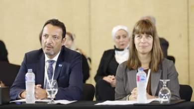 صورة وفد الاتحاد الأوروبى فى مصر يشارك فى حلقة نقاش لدعم ريادة الأعمال النسائية فى الدولة
