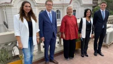 صورة سفير ألمانيا بالقاهرة يزور مكتبة الإسكندرية ومعهد جوتة والمدرسة الألمانية ويلتقى مع القنصل الفخرى الألمانى