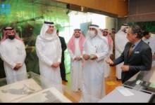 صورة أمين عام دارة الملك عبدالعزيز يلتقى مدير مكتبة الإسكندرية بحضور السفير السعودى لدى مصر