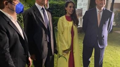 صورة سفير إسبانيا بالقاهرة: تشرفت بحضور افتتاح منطقة القاهرة للفنون الدولية من قبل Art D´Egypt