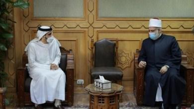 صورة رئيس قسم الشئون الإعلامية بسفارة الإمارات بالقاهرة يلتقى وكيل الأزهر الشريف