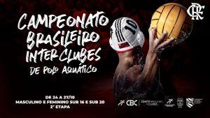 Flamengo recebe finais do sub-16 e do sub-20 dos Brasileiros Interclubes de Polo Aquático