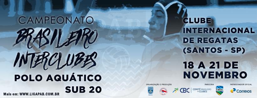II Campeonato Brasileiro Interclubes Sub 20 Masculino - 2018
