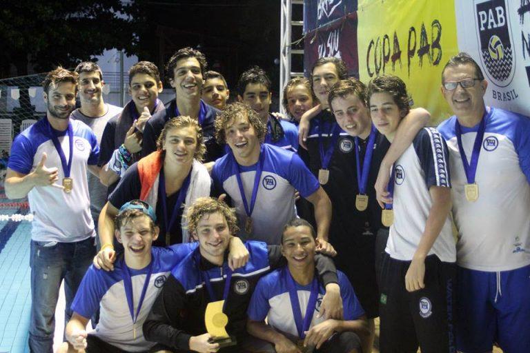 Equipe paulistana do Pinheiros mostrou melhor equilíbrio durante toda a competição. Foto: Divulgação/PAB