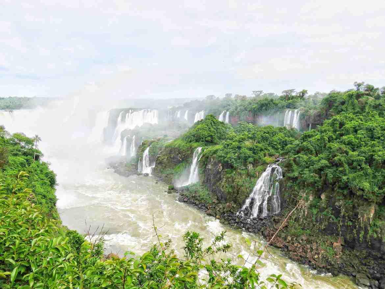 Foz do Iguaço Sendero de las cataratas