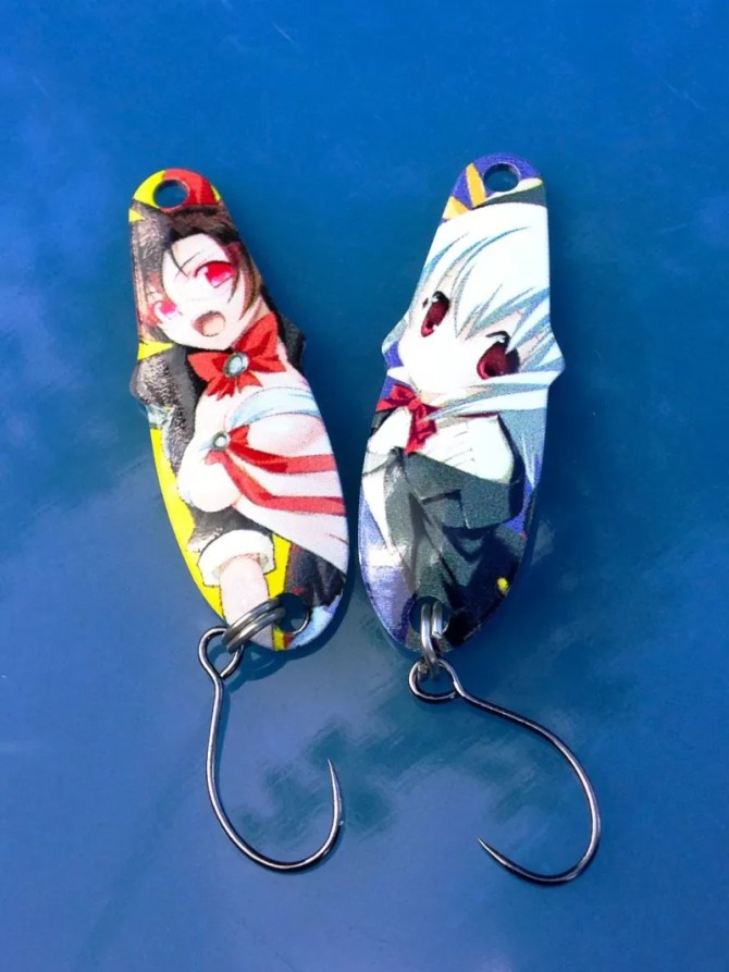 Anime Trout Spoons