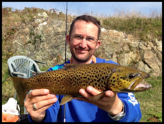 Trout on Alderney