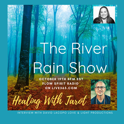 The River Rain Show with Clairvoyant Medium Catharine Allan