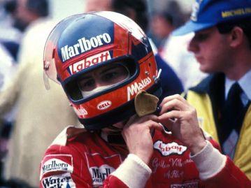 Gilles Villeneuve - Bell Star Small Window - Labatt