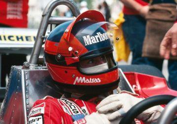 Gilles Villeneuve - Bell Star Small Window
