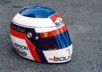 44 - Jean Alesi - Helmet