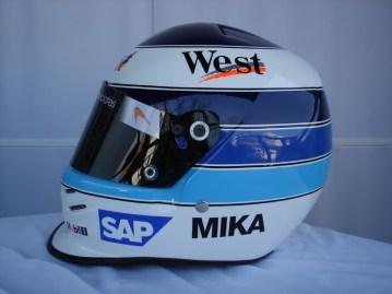 Mika Hakkinen - 2001 Helmet