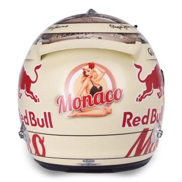 Sebastien Vettel - Monaco 2013 Helmet