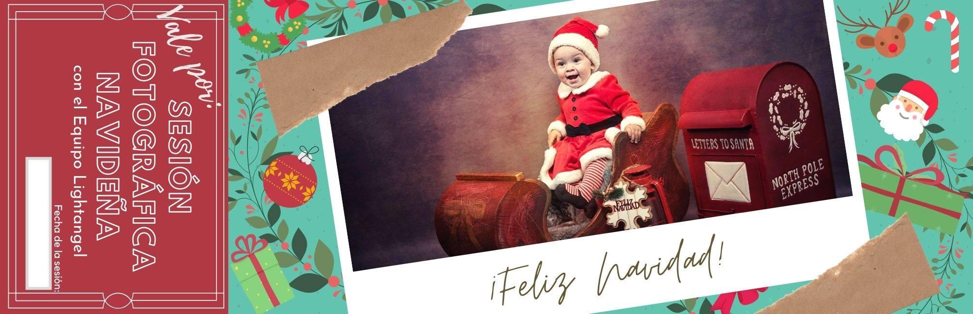 vale sesion fotos navidad nino lightangel - Esta Navidad, regala recuerdos con Lightangel -