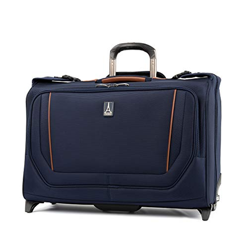 ELESAC Foldable Garment Bag,Clothing Suit Dance w// Pockets,for Business Travel Denim Blue