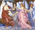 La Victoire de la Droit et de la Justice (1920), Cartoon