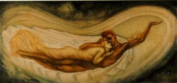 Le Rêve de l'amour (central panel)
